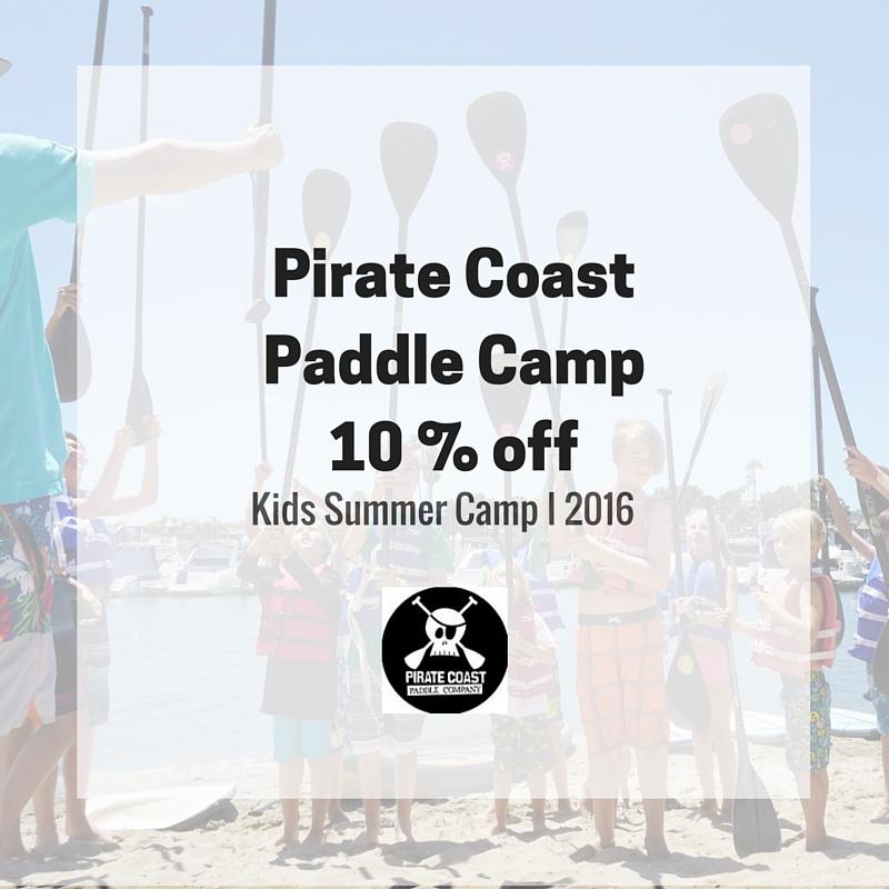 Pirate Coast Kids Paddle